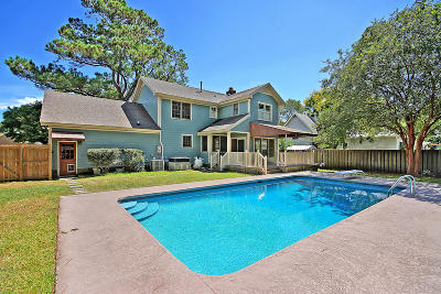 Charleston Single Family Home Contingent: 1007 Birchdale Drive