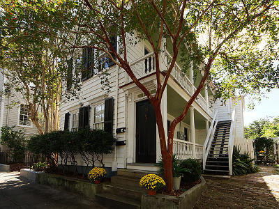 Charleston Single Family Home For Sale: 53 Warren Street #A &