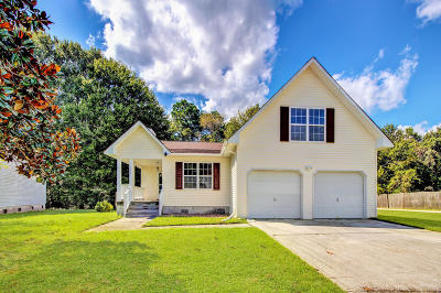 Goose Creek Single Family Home Contingent: 162 Two Hitch Road