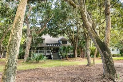 Johns Island Single Family Home For Sale: 2588 High Hammock Road