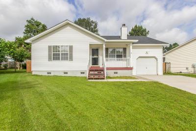 Summerville SC Single Family Home For Sale: $169,900