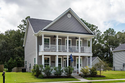 Johns Island Single Family Home For Sale: 1161 Updyke Drive