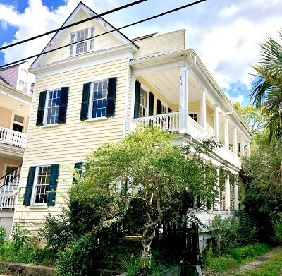 Charleston Single Family Home For Sale: 181 Queen Street