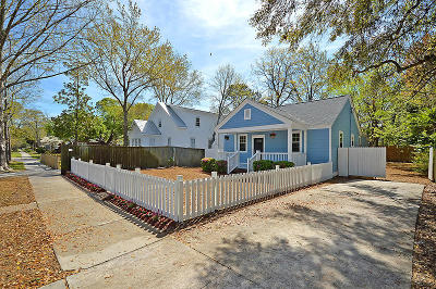 Charleston Single Family Home For Sale: 115 Peachtree Street