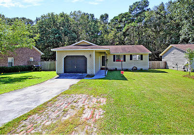 Summerville Single Family Home For Sale: 196 Ashley Drive