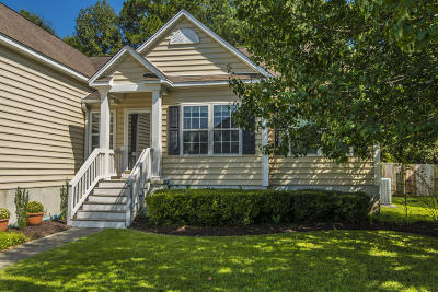 Mount Pleasant Single Family Home For Sale: 1180 Willoughby Lane