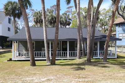 Edisto Beach Single Family Home For Sale: 2003 Myrtle Street