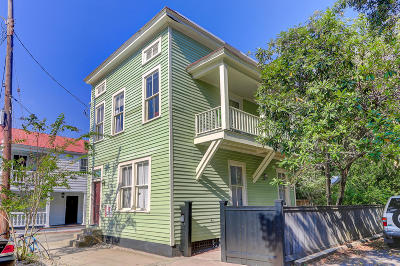 Charleston Single Family Home For Sale: 156 Smith Street
