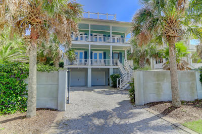 Awendaw, Wando, Cainhoy, Daniel Island, Isle Of Palms, Sullivans Island Single Family Home For Sale: 202 Palm Boulevard