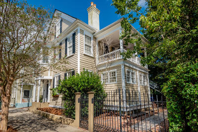 Charleston Single Family Home For Sale: 2 Franklin Street