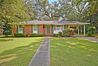 Charleston Single Family Home For Sale: 1239 S Lenevar Drive