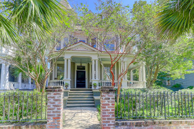 Charleston Single Family Home For Sale: 122 Rutledge Avenue