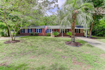 Charleston Single Family Home Contingent: 1021 Mount Vernon Drive