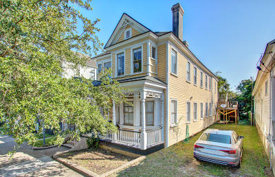 Charleston Single Family Home For Sale: 314 Ashley Avenue Ab