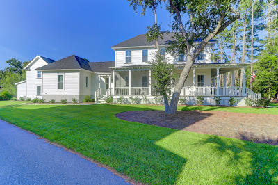 Charleston Single Family Home For Sale: 1350 Seaside Plantation Drive