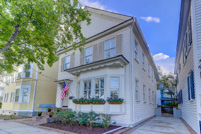 Charleston Single Family Home For Sale: 203 Broad Street