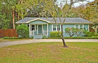 Isle Of Palms Single Family Home For Sale: 3705 Hartnett Boulevard