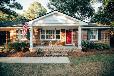 Charleston Single Family Home For Sale: 870 Wellington Drive
