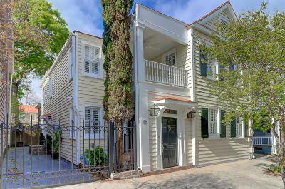 Charleston Single Family Home For Sale: 76 Vanderhorst Street