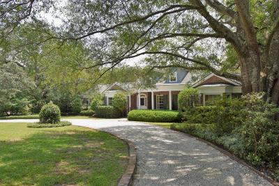Charleston Single Family Home For Sale: 1 Johnson Road