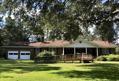 Walterboro Single Family Home Contingent: 5928 Charleston Highway