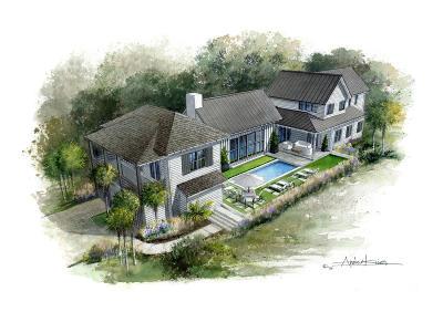 Isle Of Palms Single Family Home Contingent: 812 Carolina Boulevard