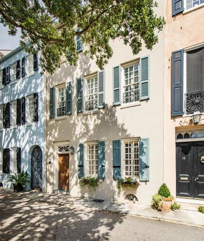 Charleston Single Family Home For Sale: 18 Elliott Street