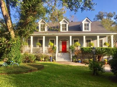 Charleston Single Family Home For Sale: 2054 Wappoo Hall Road
