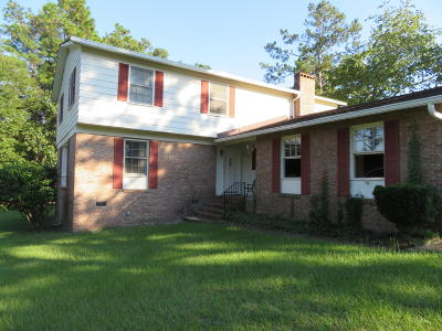 Walterboro Single Family Home Contingent: 445 Lakeshore Drive