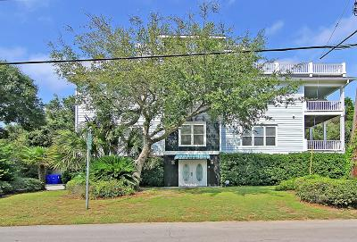 Isle Of Palms Single Family Home For Sale: 7 33rd Avenue