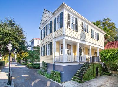 Charleston Single Family Home For Sale: 7 Lamboll Street