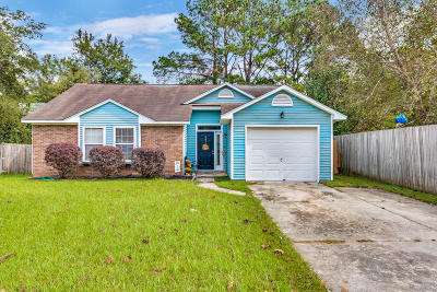 Goose Creek Single Family Home Contingent: 242 Persimmon Circle