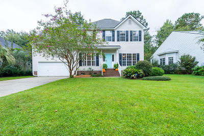 Mount Pleasant Single Family Home For Sale: 2519 Woodstream Road