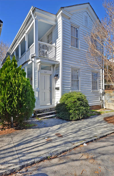 Charleston Single Family Home For Sale: 37 Percy St Street