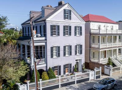 Charleston Single Family Home For Sale: 48&48 1/2 South Battery