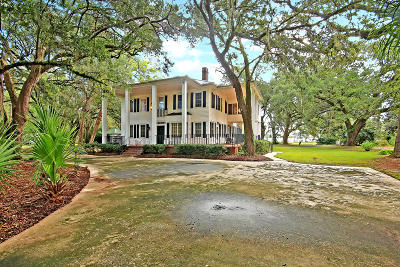 Berkeley County, Charleston County, Colleton County, Dorchester County Single Family Home For Sale: 1834 Pinopolis Road