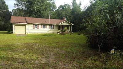 Johns Island Single Family Home For Sale: 3650 Benjamin Road