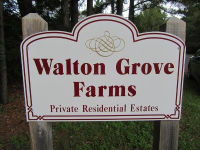 Single Family Home Contingent: 184 Walton Grove Road