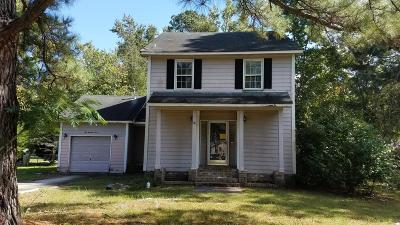 Summerville SC Single Family Home For Sale: $109,900