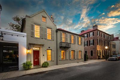 Charleston Single Family Home For Sale: 35 Tradd Street