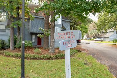 Charleston Attached Contingent: 2155 Spoleto Lane #E