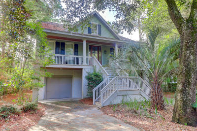 Kiawah Island Single Family Home For Sale: 14 Angler Hall