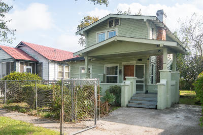 Charleston Single Family Home For Sale: 1014 Ashley Avenue