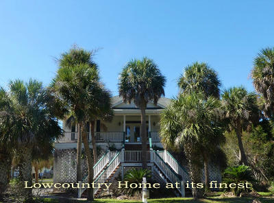 Edisto Island Single Family Home For Sale: 3302 Myrtle Street
