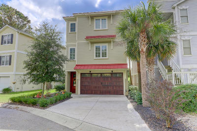 Mount Pleasant, Isle Of Palms, Daniel Island, Awendaw Single Family Home For Sale: 24 Yacht Harbor Court