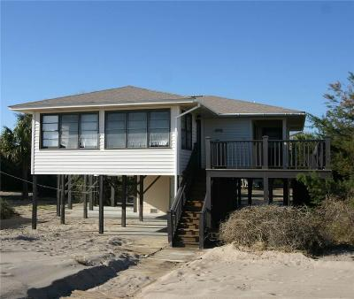 Edisto Beach Single Family Home For Sale: 2703 Point Street