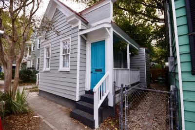 Charleston Single Family Home For Sale: 155 Line Street