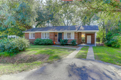 Charleston Single Family Home For Sale: 713 Magnolia Road