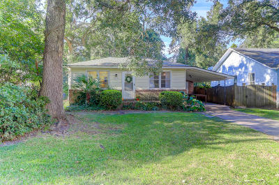 Charleston Single Family Home For Sale: 108 Live Oak Avenue