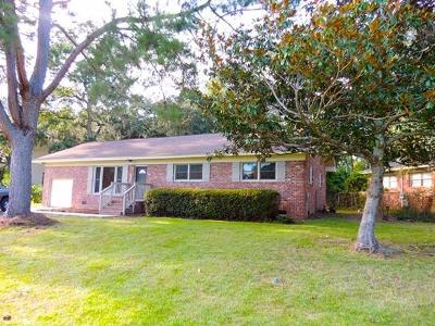 Charleston Single Family Home For Sale: 1154 Culpepper Circle